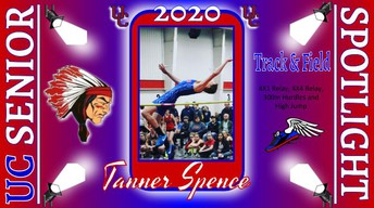 UC Class of 2020 Tanner Spence