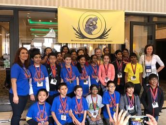 6th Grade Academic Games Champions