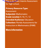 Geometry  - 1 out of 4 Interim Assessments