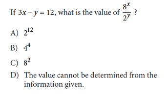 What will be tested on the SAT Math section?
