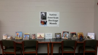 Native American Heritage Month Display