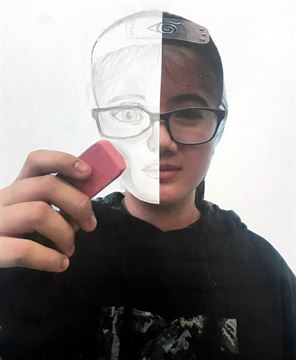 Erased Portrait