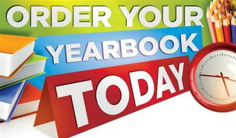 Yearbook Orders are due this Sunday, May 2nd