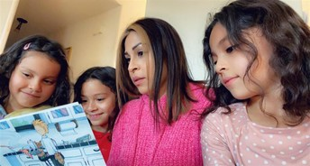 SRES Encourages Family Engagement Through Reading
