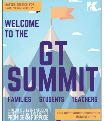 GT Summit for students and parents!