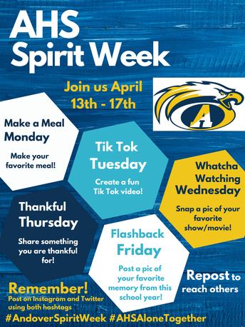 Warrior Way- Virtual Spirit Week!