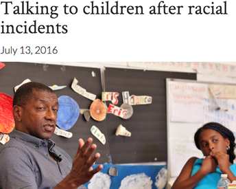 Talking to Your Child After Racial Incidents