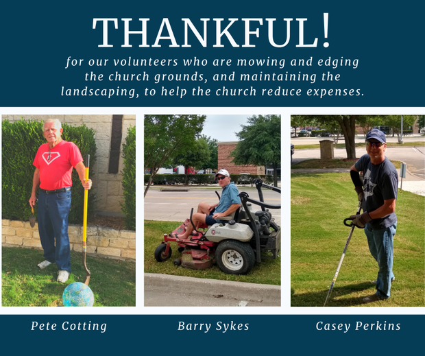 Thankful for Our Volunteers
