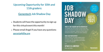 Job Shadow Day