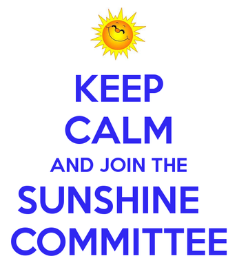 PTA Sunshine Committee Announcement