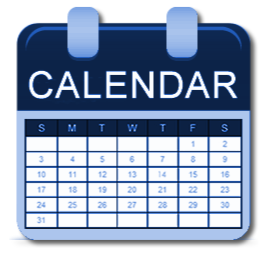 West Weeks At A Glance - Save the Dates