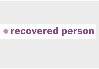recovered person