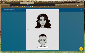 Create your avatar/bitmoji