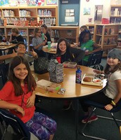 Lunch in the Library!