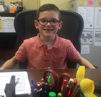 Introducing...Your Principal for the Day, Mr. Hudson Fehr