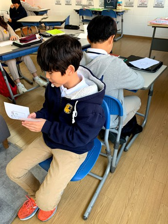 Practice the skill of sequencing in EAL Class