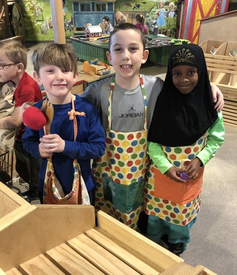 First Grade Visits the Children's Museum