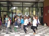 Coreografía en el Liceo Bagatta