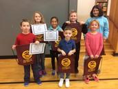 K-6 Petersham Center School Citizens of the Month
