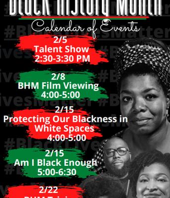 CHS MAC Scholars Black History Month Events