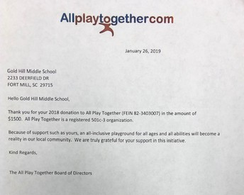 Continued Our Support for Allplaytogether