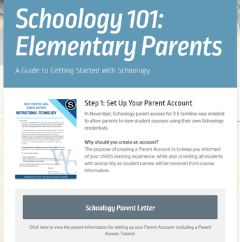 Schoology Parent Access 101