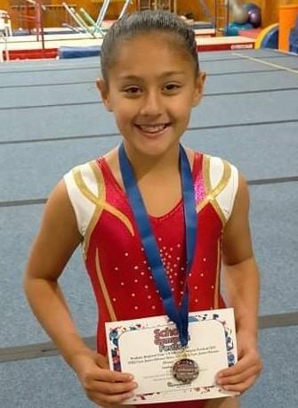 Congratulations Ariana Parker. 1st place!