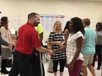 High School Teachers at School Connect Training