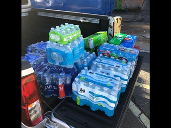 A Truckload of Drinks for our Front Line Workers