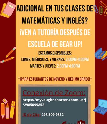 Tutoring in Math & English