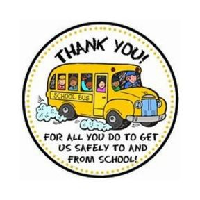 Bus Driver Appreciation - Week of October 21