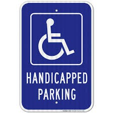 Parking in Handicapped Spaces- Parking Lot Safety