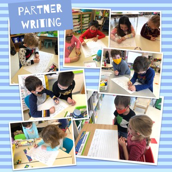 Writing with a partner gives feedback, fun, and a shared experience