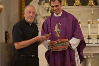 Happy birthday Fr. Mooney! We hope that you enjoyed the cards and your birthday!