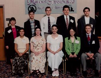 Picture of 1996 Missouri Scholars