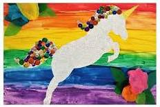 Bedazzled Unicorn Art Class ages 5-12