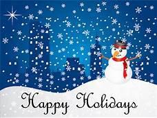 Week of December 7 -11