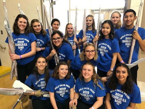 CHS Winterguard and Percussion