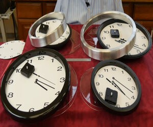 Come To Be an Instant Clockmaker with a Wall Clock Kit