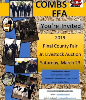 COMBS FFA INVITES YOU