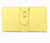 Soho Flap Wallet-Citron