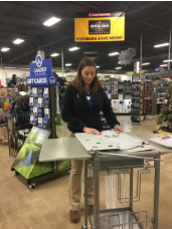 Ashley Brown @ Gander Outdoors