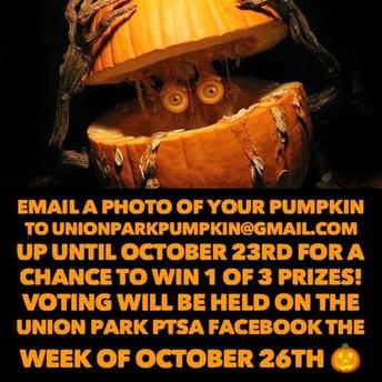 It's a Pumpkin Carving Contest!