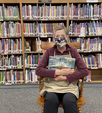 PCR Librarian Loves Reading Books to Students
