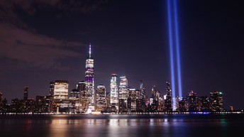 Tribute in Light, 9/11 Memorial in NYC