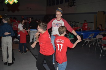 It looks like the Mother-Son Dance was a blast!