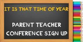 Parent/Teacher Conference Sign Up for PreK-4