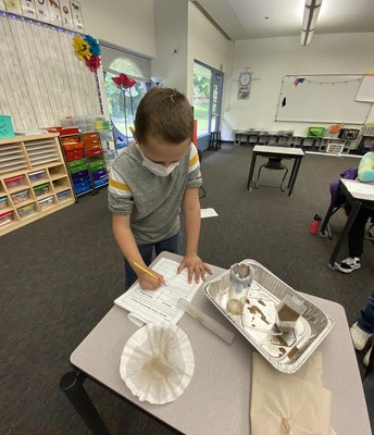3rd Grade Water Filtration Project