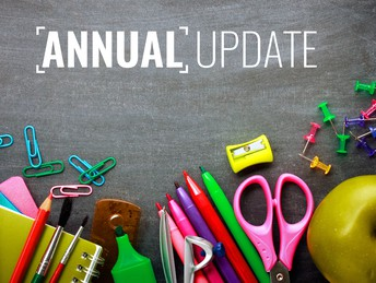 Update Your Annual Student Information Online This Spring
