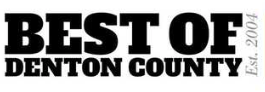 BEST OF DENTON COUNTY!  Voting ends on August 21st!